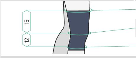 Storleksmätning JuzoFlex Knästöd Genu 303